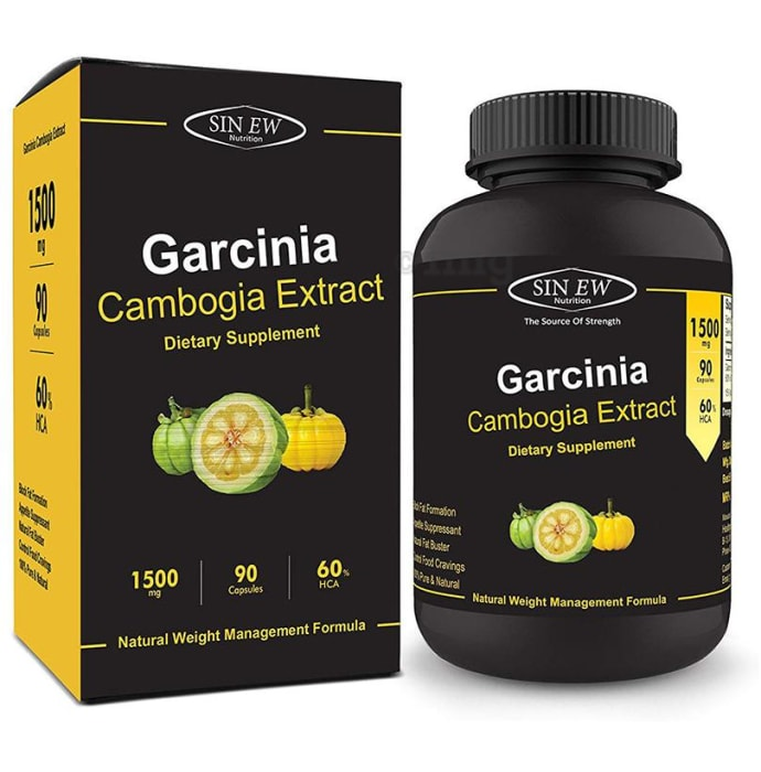 Sinew Nutrition Garcinia Cambogia Extract 1500mg Capsule