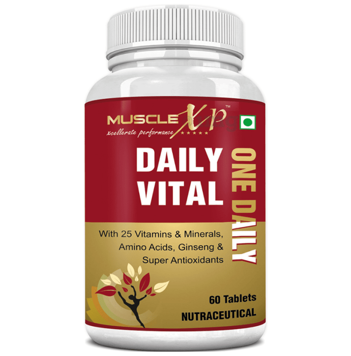 MuscleXP Daily Vital One Daily Tablet