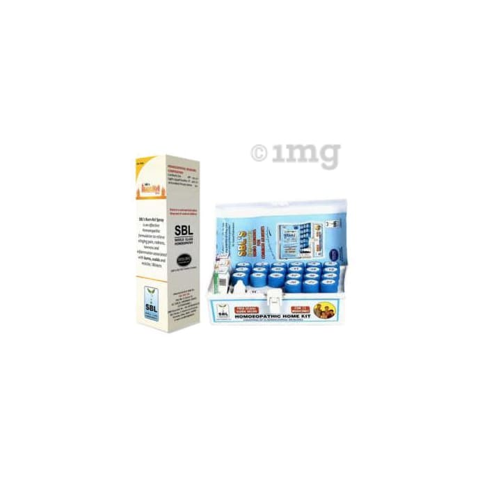 SBL 119 Homeopathic Home Kit With Burn Spray (Combo Of 2)