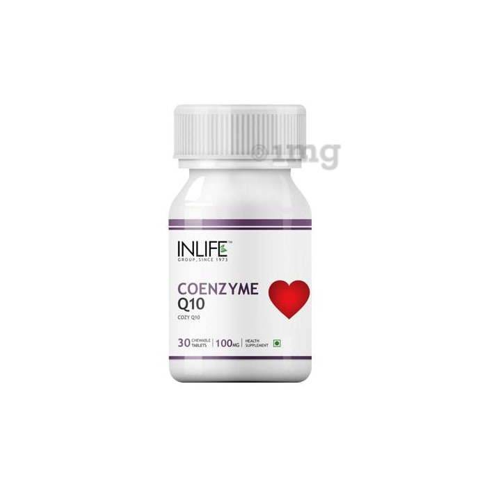 Inlife Coenzyme Q10 Chewable Tablet