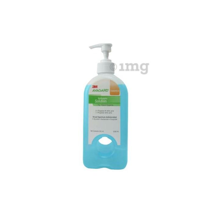 3M Avagard Handrub Hand Sanitizer Antiseptic Solution