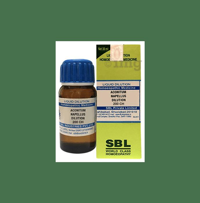 SBL Aconitum Napellus Dilution 200 CH