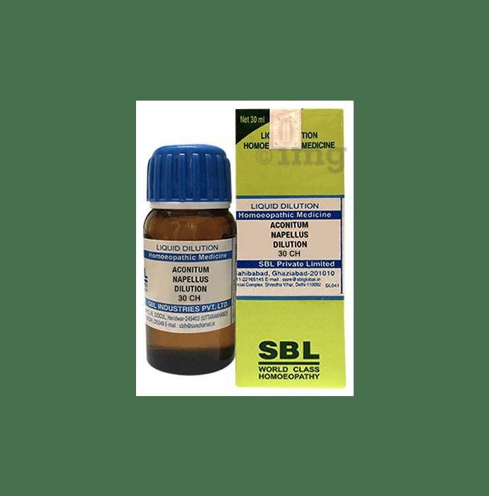 SBL Aconitum Napellus Dilution 30 CH