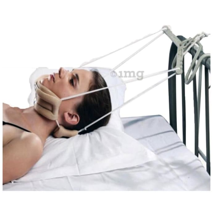 Tynor G-26 Cervical Traction Kit with Weight Bag (Sleeping) Universal
