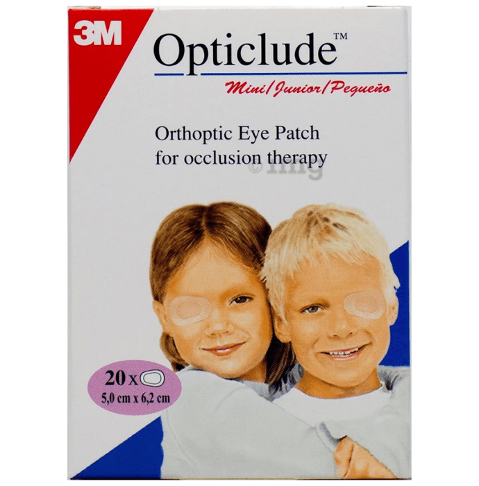 3M Opticlude Orthoptic Eye Patch