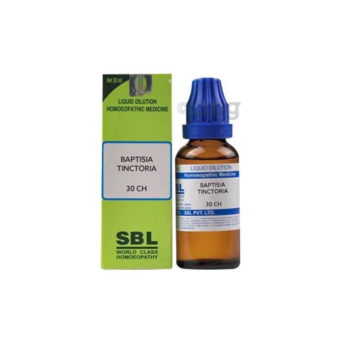 SBL Baptisia Tinctoria Dilution 30 CH