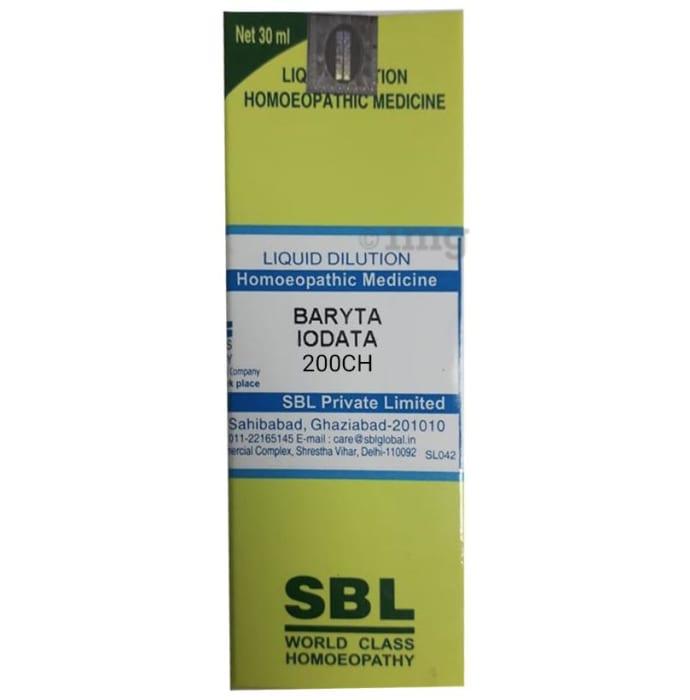 SBL Baryta Iodata Dilution 200 CH