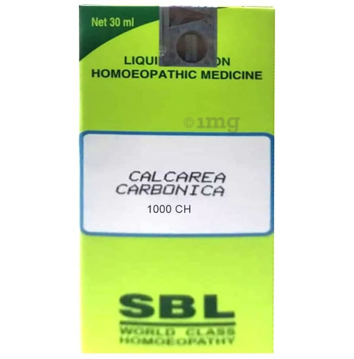 SBL Calcarea Carbonica Dilution 1000 CH