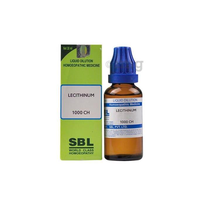 SBL Lecithinum Dilution 1000 CH