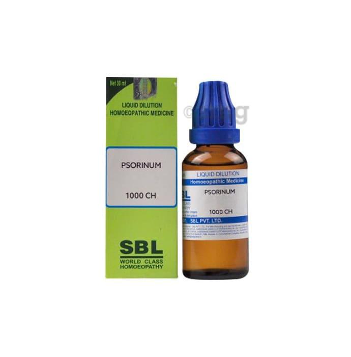 SBL Psorinum Dilution 1000 CH