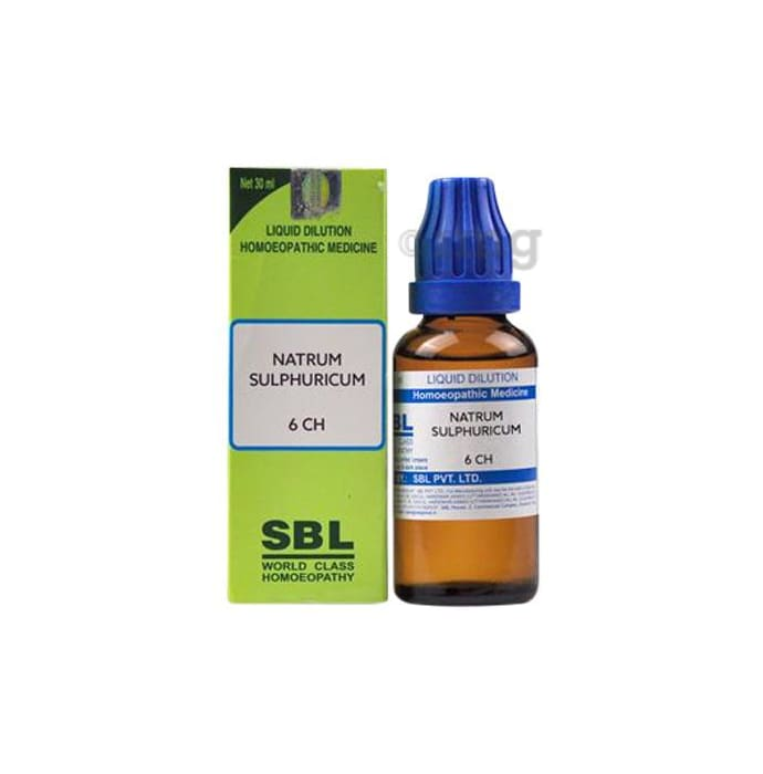 SBL Natrum Sulphuricum Dilution 6 CH