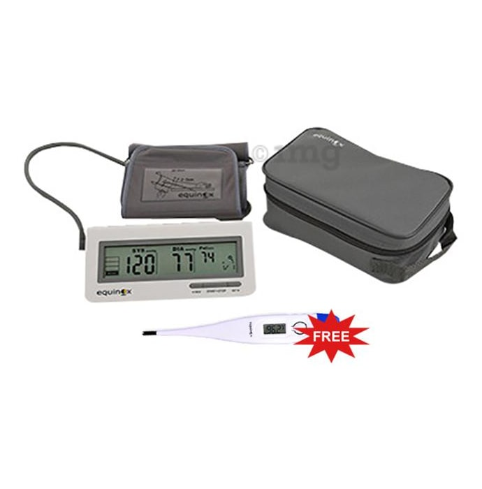 Equinox EQ-BP-101 Digital Blood Pressure Monitor with Free Digital Thermometer