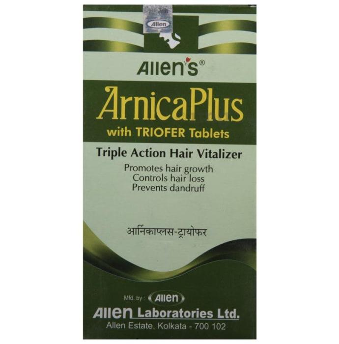 Allen's Arnica Plus (Hair Vitalizer 100 Ml+ Triofer 50 Tablets) Kit