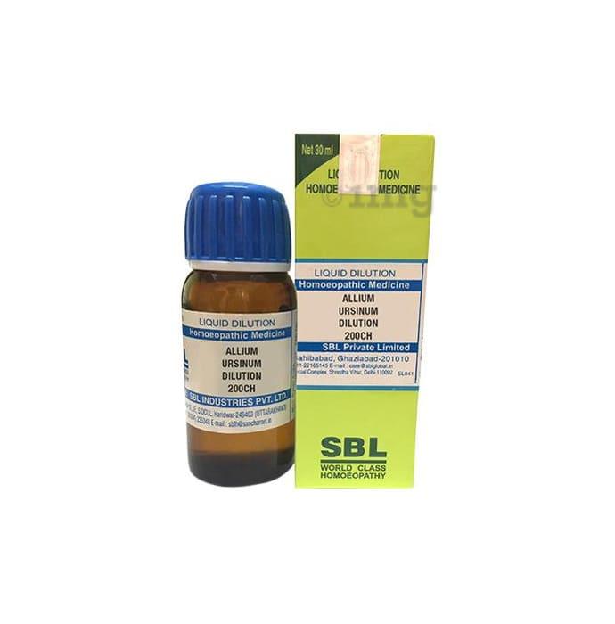 SBL Allium Ursinum Dilution 200 CH