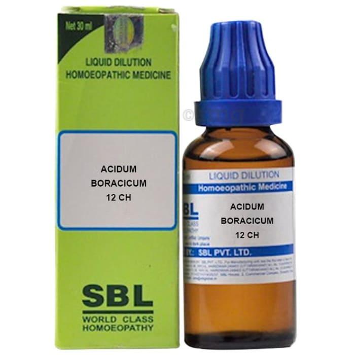 SBL Acidum Boracicum Dilution 12 CH