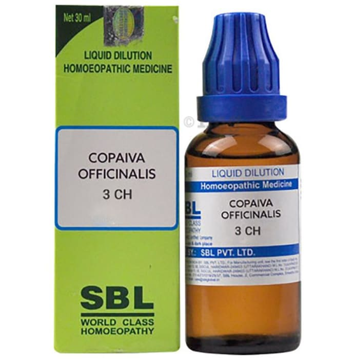 SBL Copaiva Officinalis Dilution 3 CH