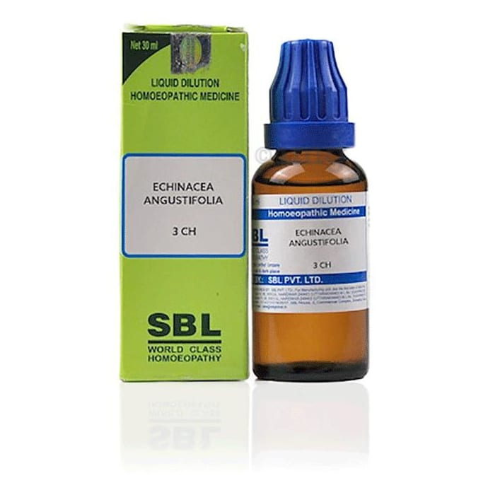 SBL Echinacea Angustifolia Dilution 3 CH