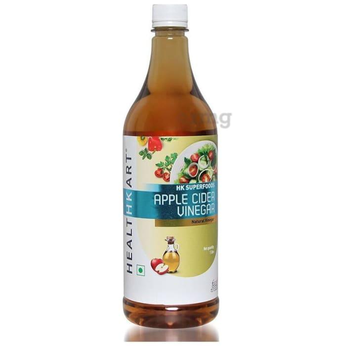 HealthKart Apple Cider Vinegar with Mother, Unfiltered, Unpasteurized Pack of 2