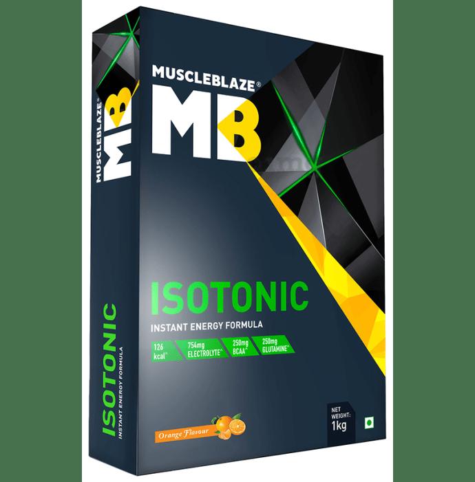 MuscleBlaze MB Isotonic Instant Energy Formula Orange