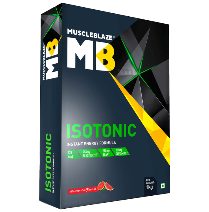 MuscleBlaze MB Isotonic Instant Energy Formula Watermelon
