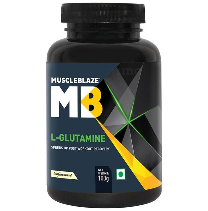 MuscleBlaze Micronized Glutamine Powder Unflavoured