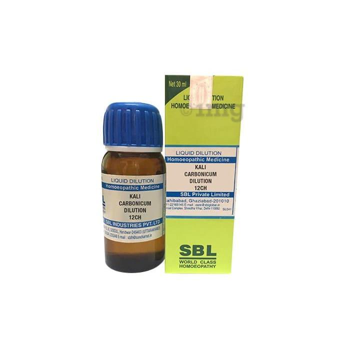 SBL Kali Carbonicum Dilution 12 CH