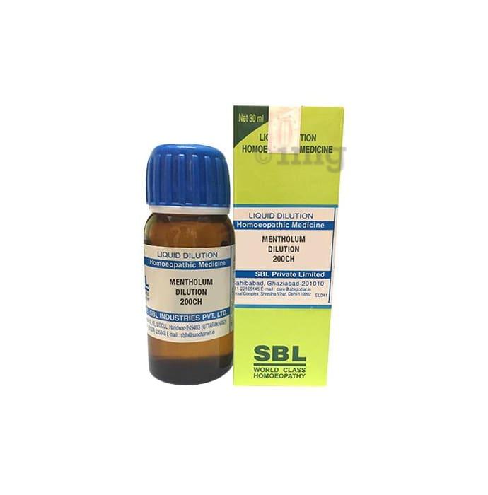 SBL Mentholum Dilution 200 CH