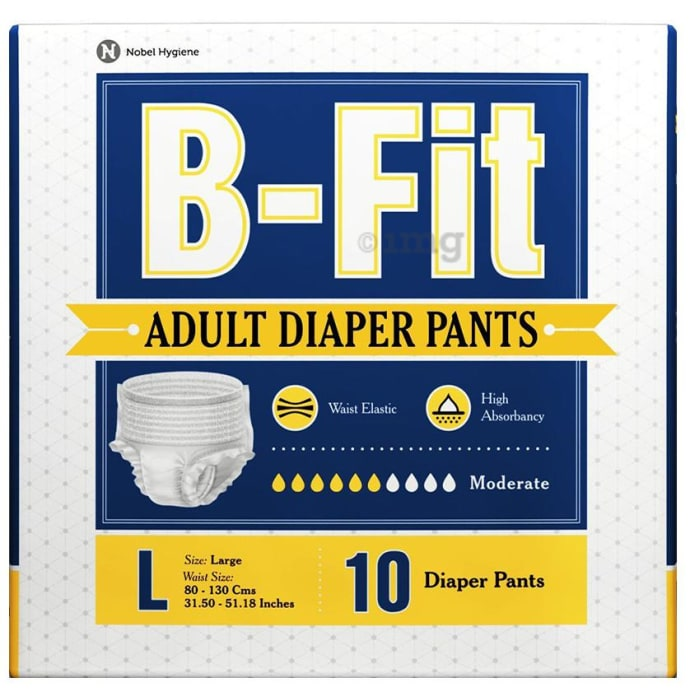 B-Fit Adult Diaper Pants Large