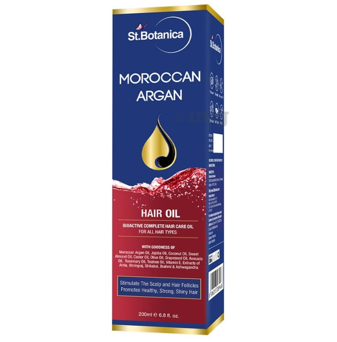 St.Botanica Moroccan Argan Hair Oil
