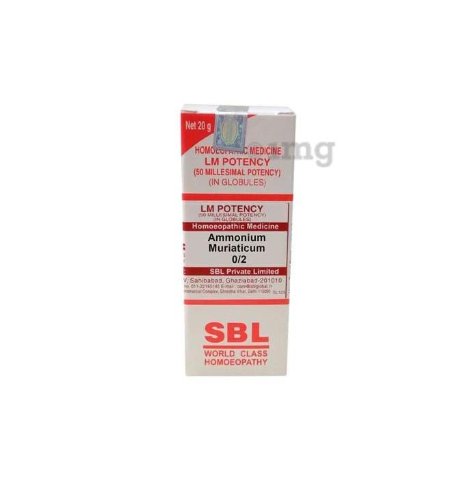 SBL Ammonium Muriaticum 0/2 LM