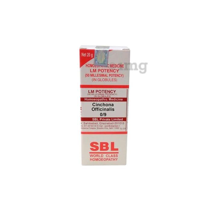 SBL Cinchona Officinalis 0/9 LM
