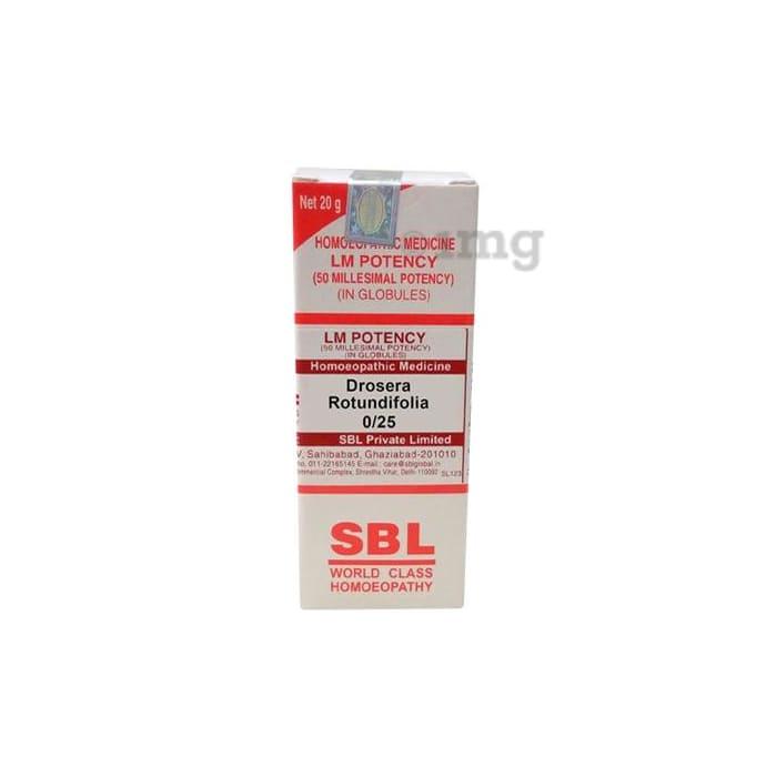 SBL Drosera Rotundifolia 0/25 LM