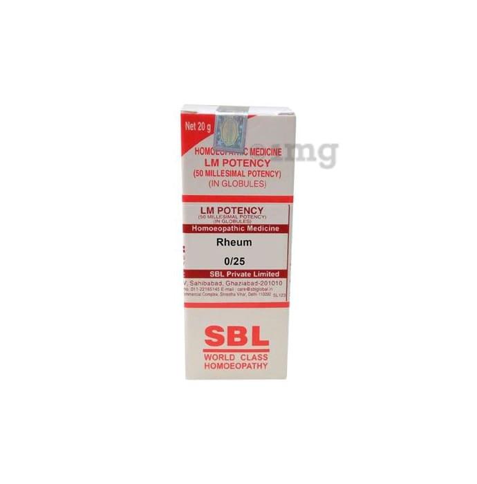 SBL Rheum 0/25 LM