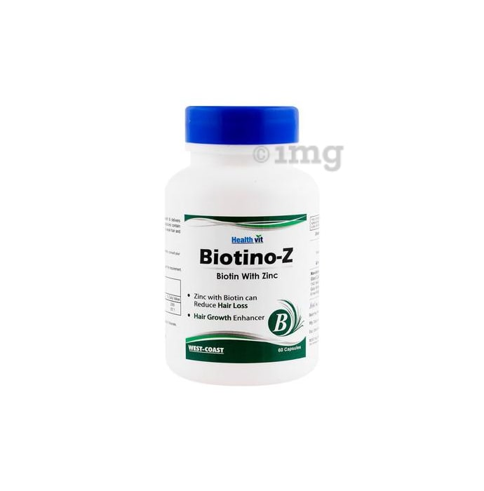 HealthVit Biotino-Z Biotin with Zinc Capsule