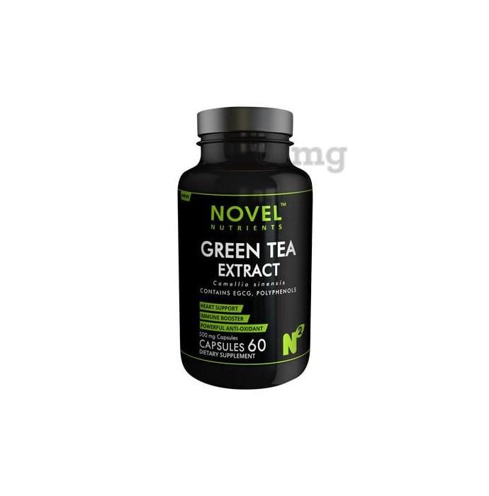 Novel Nutrients Green Tea Extract 500mg Capsule