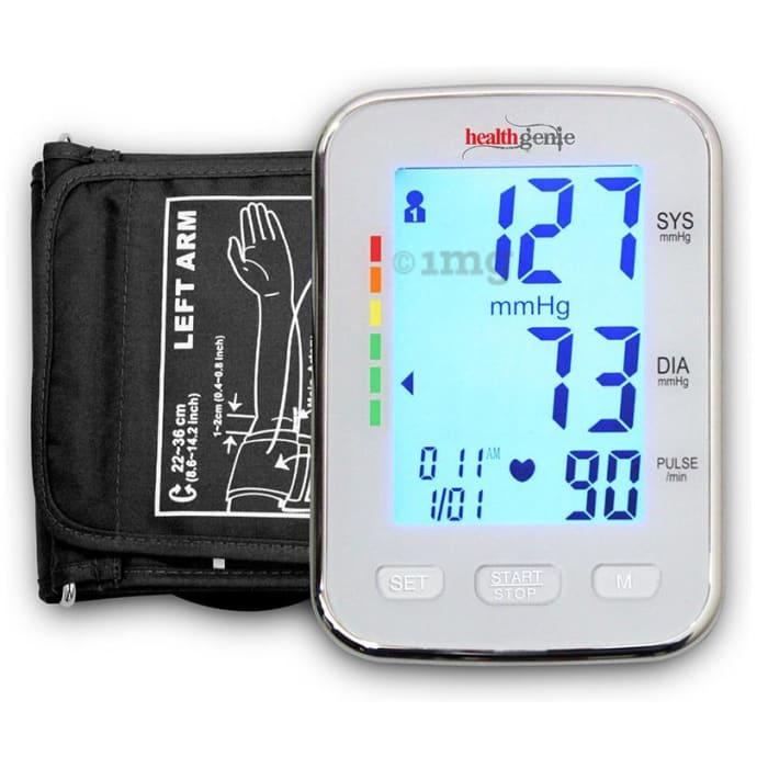 Healthgenie BPM04KBL Upper Arm Digital BP Monitor