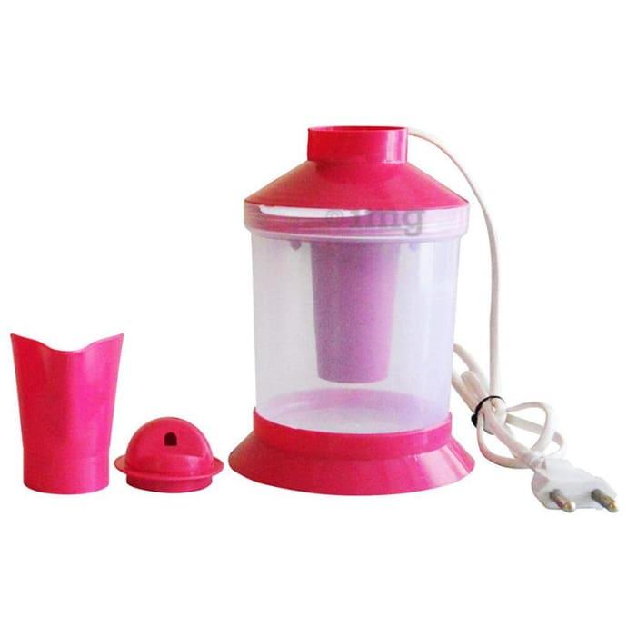 Healthgenie 2 in 1 Steam Sauna Vaporizer Regular Pink