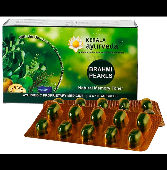 Kerala Ayurveda Brahmi Pearls Capsule