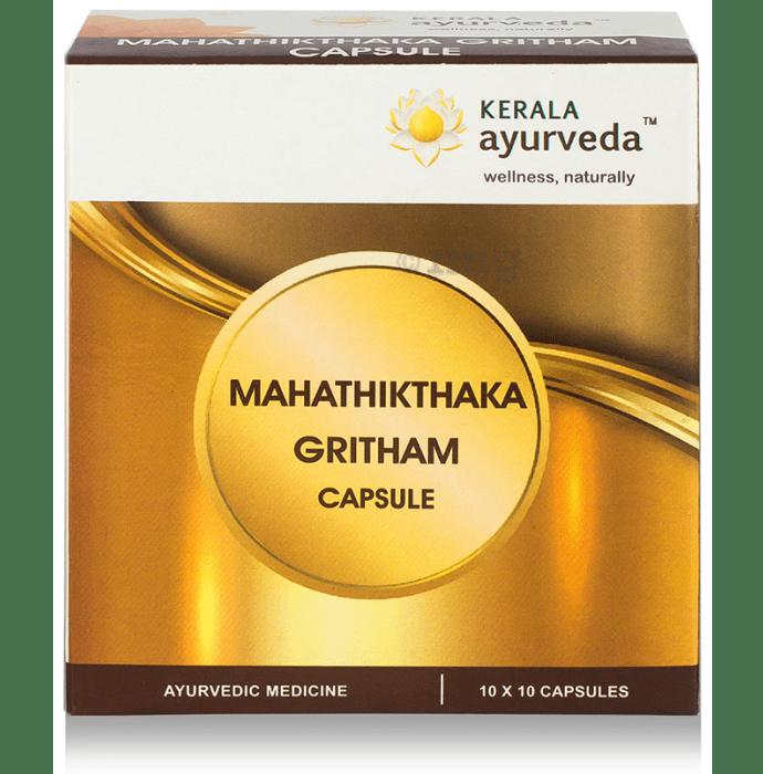 Kerala Ayurveda Mahathikthaka Gritham Capsule