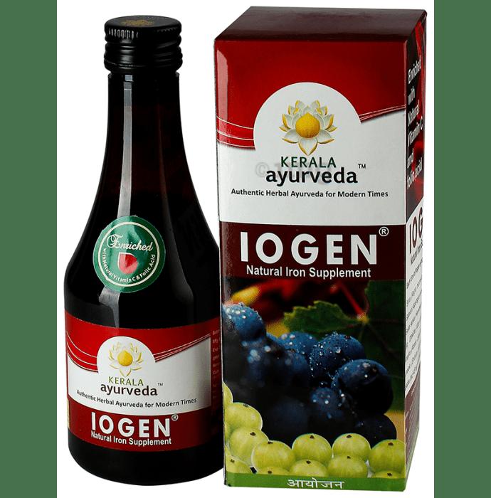 Kerala Ayurveda Iogen Syrup