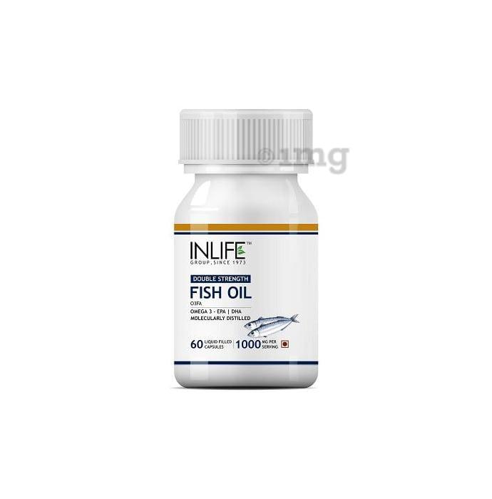 Inlife Fish Oil Omega 3,1000mg Capsule
