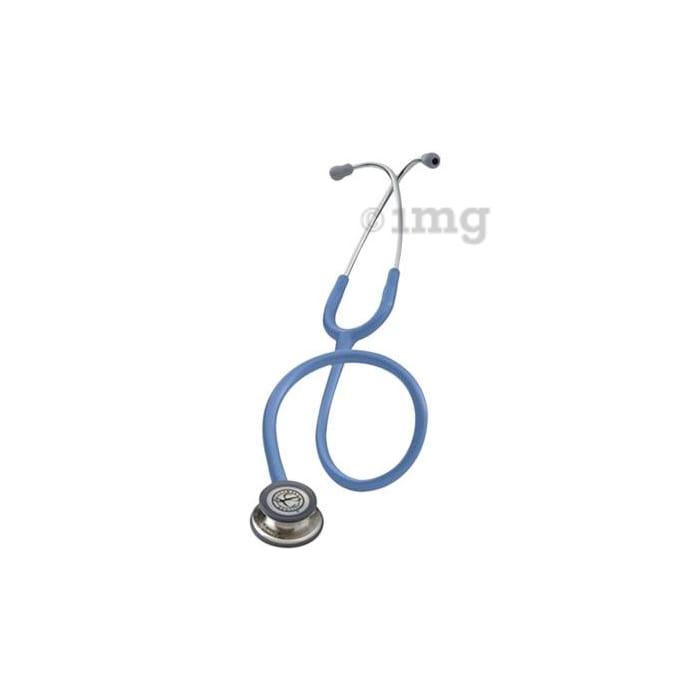 3M Littmann Classic III Stethoscope, Ceil Blue Tube, 27 inch, 5630
