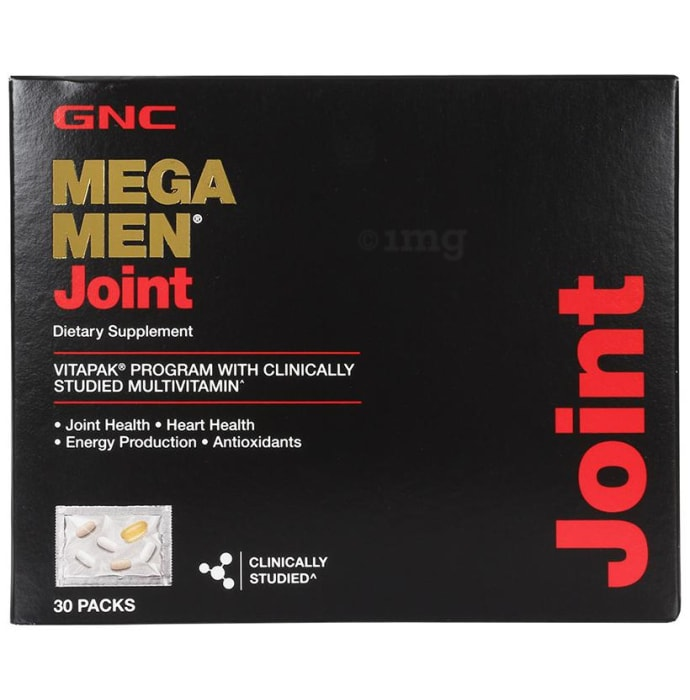 GNC Mega Men Joint Dietary Supplement Vitapak Program Pack