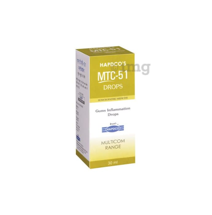 Hapdco MTC-51 Gums Inflammation Drop