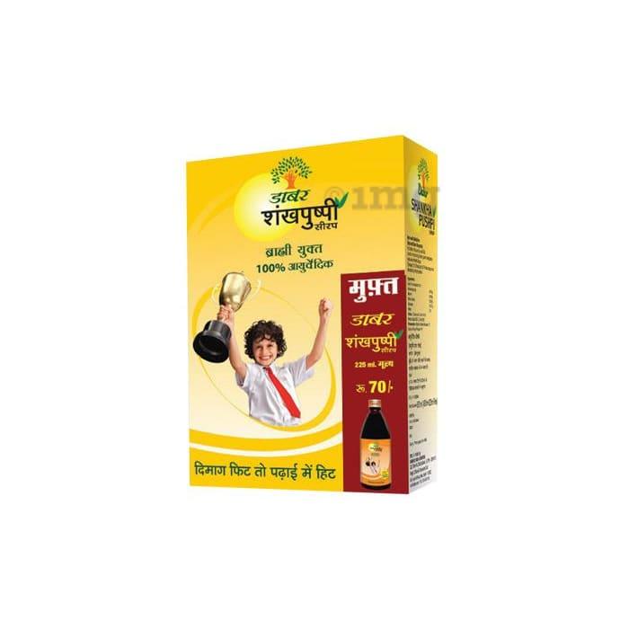 Dabur Shankhpushpi Syrup 450ml (with 225ml Free)