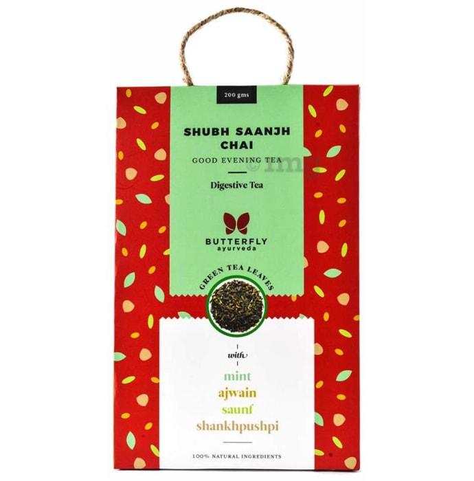 Butterfly Ayurveda Shubh Saanjh Chai Green tea Leaves
