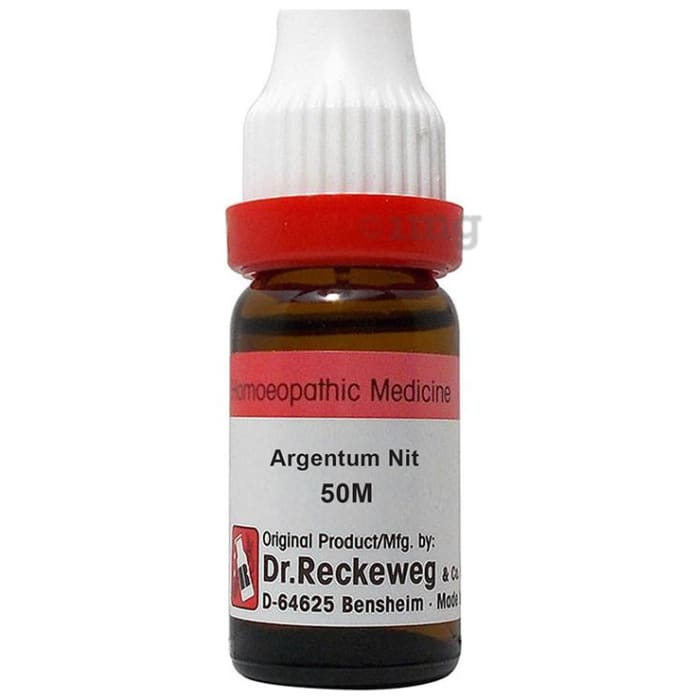 Dr. Reckeweg Argentum Nit Dilution 50M CH