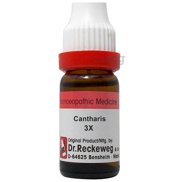 Dr. Reckeweg Cantharis Dilution 3X