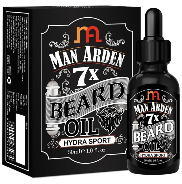 Man Arden 7X Beard Oil Hydra Sport