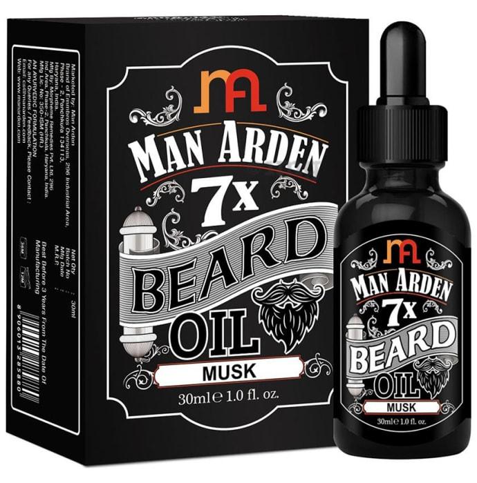 Man Arden 7X Beard Oil Musk